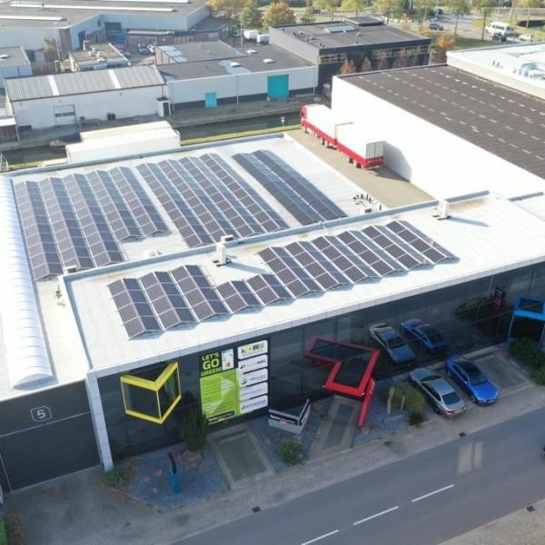 Duurzame energie op bedrijventerrein De Woerd